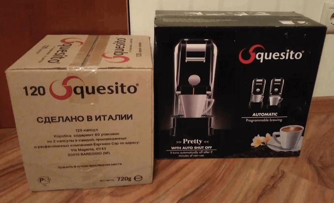 капсульная кофемашина Squesito Pretty