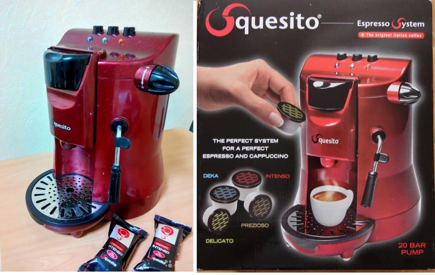 капсульная кофемашина Squesito Tonda